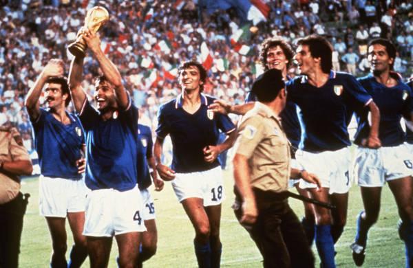 Italia alza la coppa, Mundial 1982