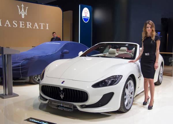 Maserati con Kubang 3.000 auto l'anno in Russia entro 2015