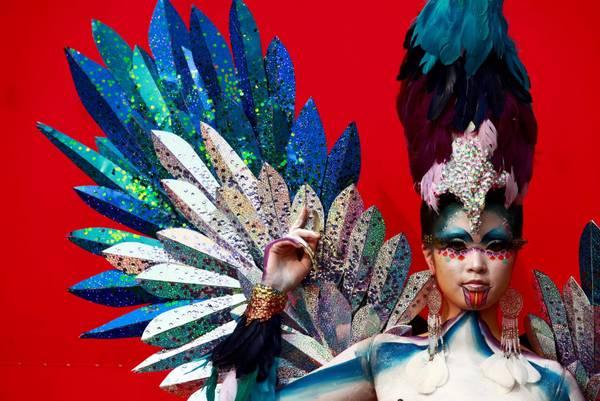Quando il body painting diventa arte, festival internazionale a Daegu (Sud Corea)