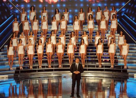 Le finaliste di Miss Italia 2012 nella prima serata a Montecatini Terme