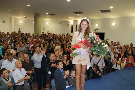 Miss Italia:  festa a Menfi per il ritorno di Giusy Buscemi, 'dedico corona a tutti gli italiani'