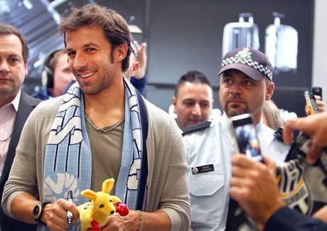 Del Piero a Sydney, accoglienza da star