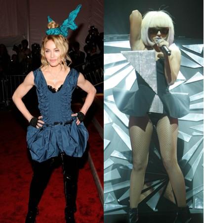 Madonna sconfessa Lady Gaga:'La mia erede? Deve ancora nascere!'