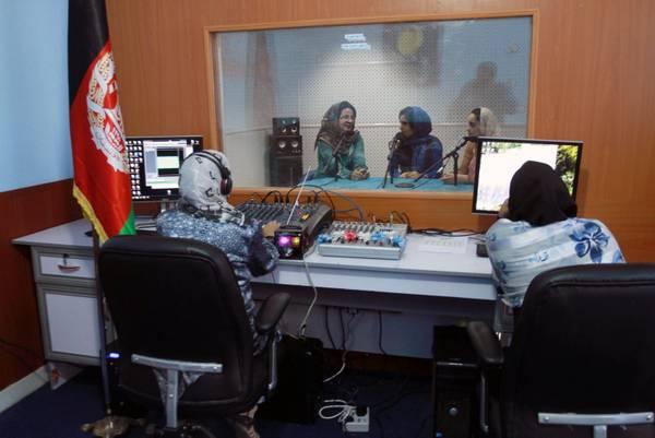 Seconda radio condotta solo da donne inaugurata ad Herat