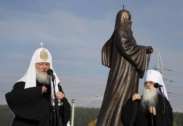 Il Patriarca di Mosca Kirill I in visita in Bielorussia
