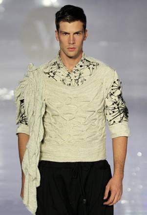 Creazione di Filipe Faisca al Lisbona Fashion Week