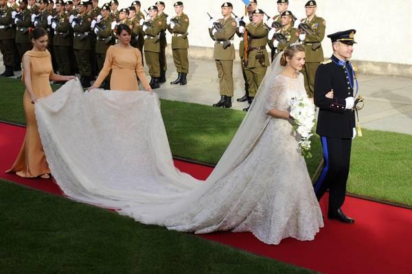 Il Lussemburgo e le sue nozze da favola, tra il principe Guglielmo e Stephanie