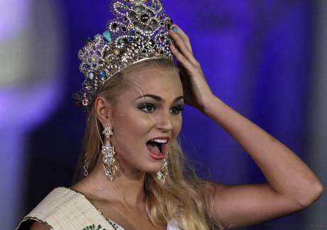 Tereza Fajksova Miss Earth 2012