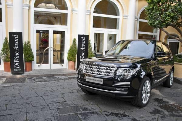 Range Rover DiWine Award, due eccellenze che si incontrano