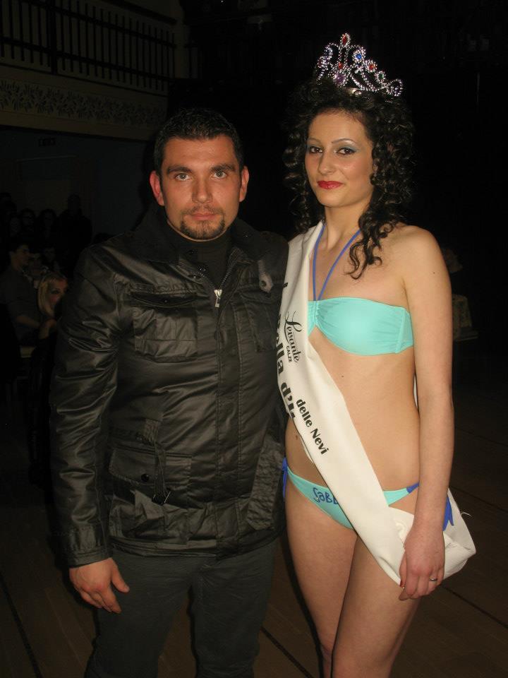 La Bella d'Italia all' HOTEL SAMMARTINO il 17.03.2013 - La vincitrice Mariangela Di Pietro - Agnone