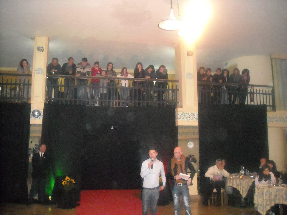 La Bella d'Italia - SKY - all' HOTEL SAMMARTINO - Agnone IS - il 17.03.2013