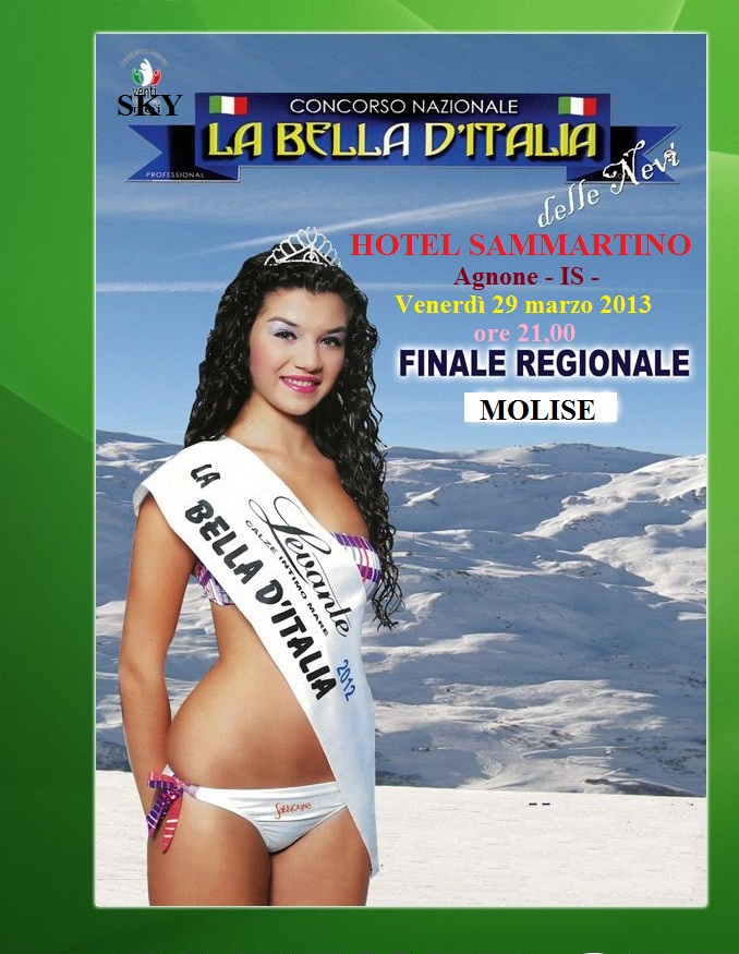 Finale del Molise 29.03.2013 Hotel Sammartino  Agnone - IS -