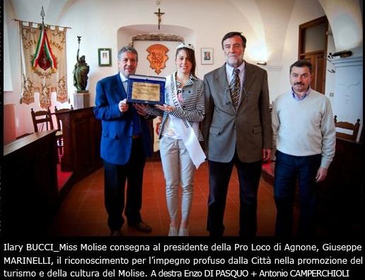Ilary Bucci, Giuseppe Marinelli, Enzo Di Pasquo, Antonio Camperchioli - Agnone IS