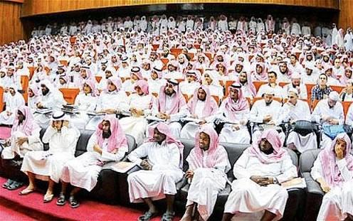 """In Arabia Saudita, alla conferenza """"La donna nella società"""" hanno partecipato solo uomini"""
