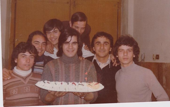 Il complesso dei Quimbaya al compleanno di Giuseppe 05/04/1976 Volla (NA)