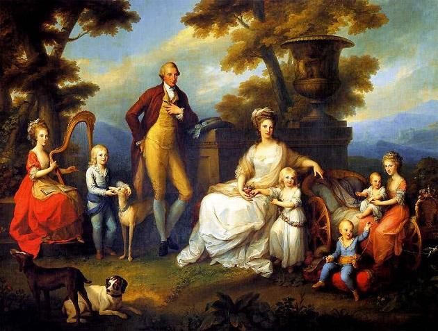 Angelica Kauffmann, Ritratto della famiglia di Ferdinando IV