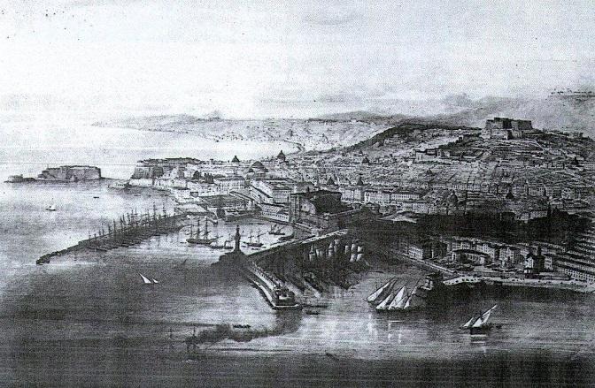 Napoli nell'Ottocento, di autore ignoto