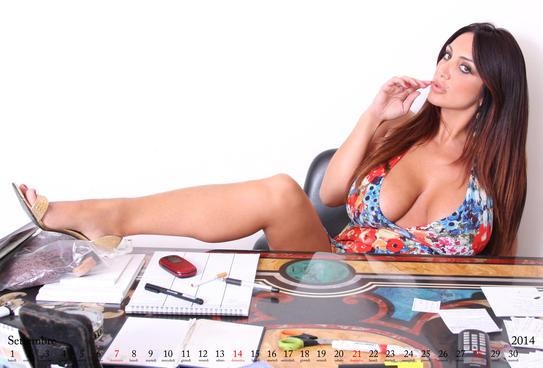 Calendario 2014 - Marika Fruscio