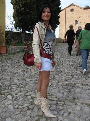 Passeggiata di mia moglie Sabrina bellissima, Ciro - Agnone