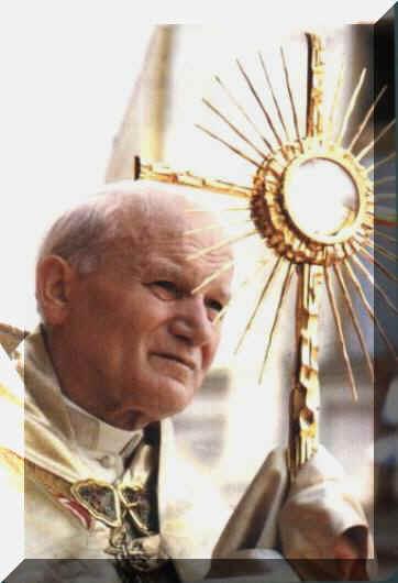 """Chi non ama il proprio fratello non si può amare DIO """"Giovanni Paolo II"""""""