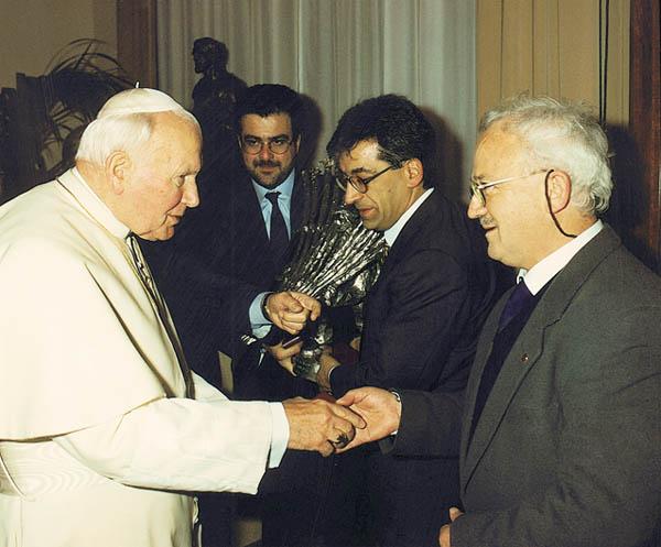 Dono ufficiale della regione Molise al Santo Padre Giovanni Paolo II