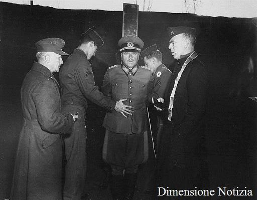 Fucilazione del generale tedesco Anton Dostler, condannato dal tribunale militare americano 1945