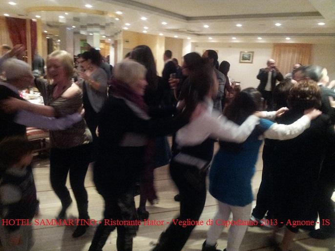 HOTEL SAMMARTINO - Ristorante Hator - Veglione di Capodanno 2013 - Agnone - IS -