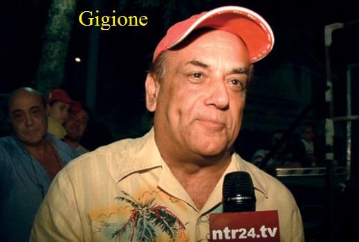 Gigione all'Hotel Sammartino Agnone - IS - il 13 aprile ore 13,oo