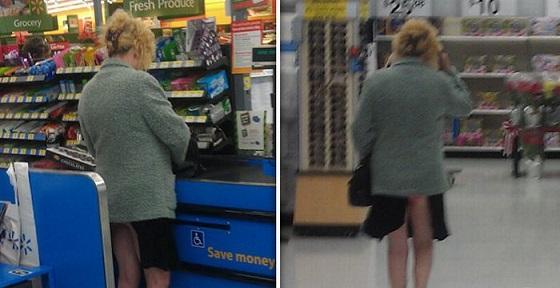 Al supermercato ubriaca...