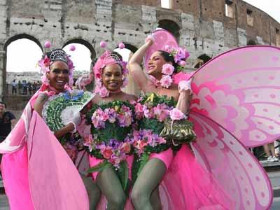 ROMA MANIFESTAZIONE GAY 2008