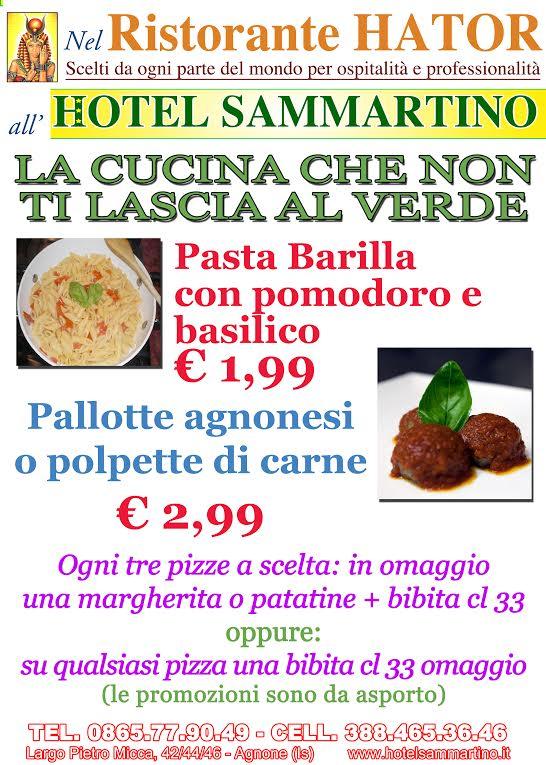 Ristorante Hator - Hotel Sammartino - Agnone - IS -
