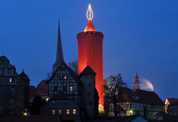 ''La piu' grande candela del mondo'', in Germania -