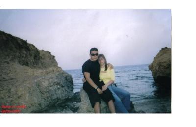 Vincenzo e Priscilla a Sharm El Sheikh - Egitto -