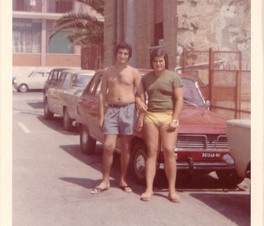 Vincenzo e Giuseppe 1970 Mondragone - CE -