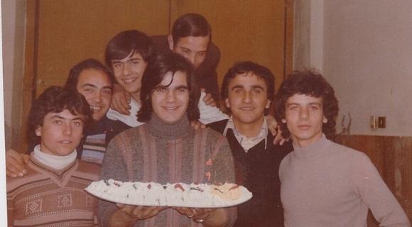 Qujnbaya - Da sinistra: Mariano, Franco, Fortunato, Giuseppe, Tony, Saccone