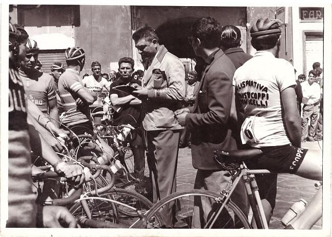 Il giudice di gara Vincenzo Piccolo 1960