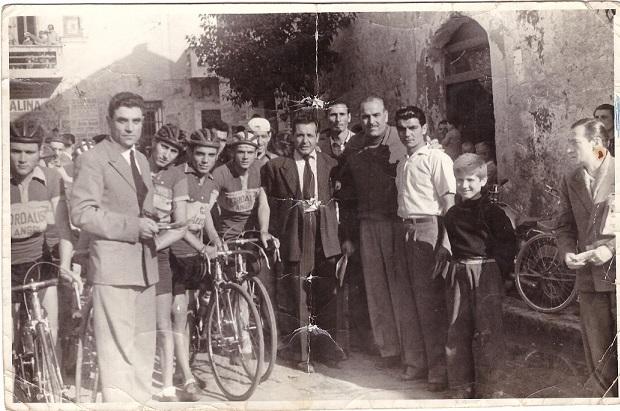 Il giudice di gara Vincenzo Piccolo 1956