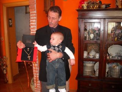 Diego con il Papà Mario -
