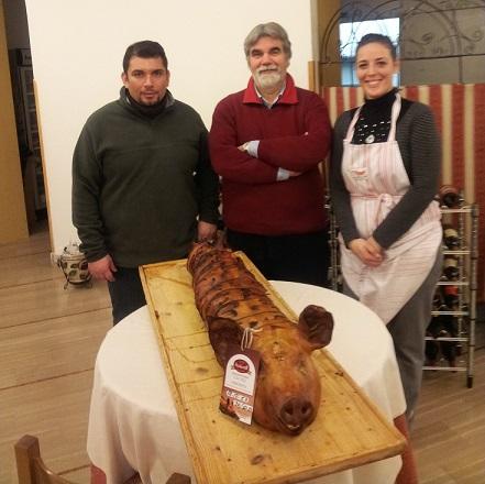Ristorante HATOR: Vincenzo, Giuseppe, Priscilla