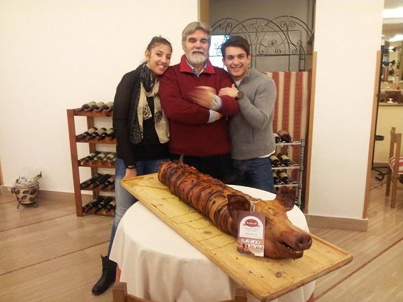 Ristorante HATOR: Rosangela, Giuseppe, Nico