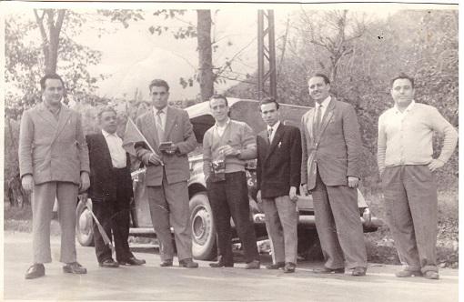 Gara ciclistica Volla (NA) 1957