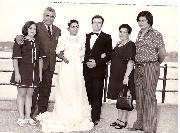 Matrimonio Romano 1970