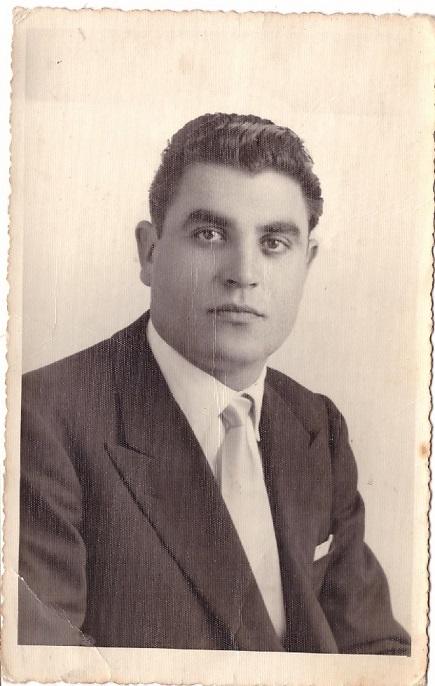 Il comandante dei Vigili Urbani Vincenzo Piccolo 1953