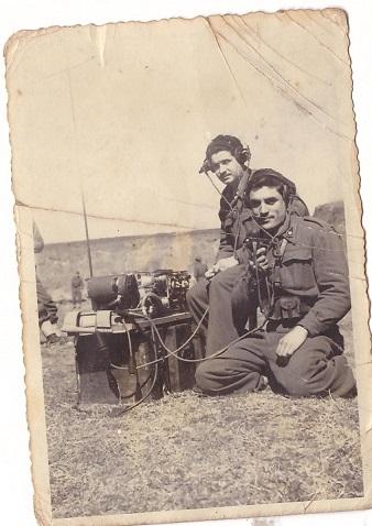 Vincenzo con amico 1949