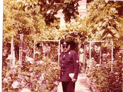 Il comandante Vincenzo Piccolo 1990