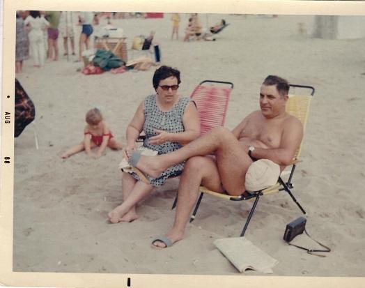 Famiglia al mare Agosto 1988
