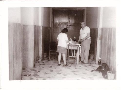 Raffaella e Vincenzo 1970