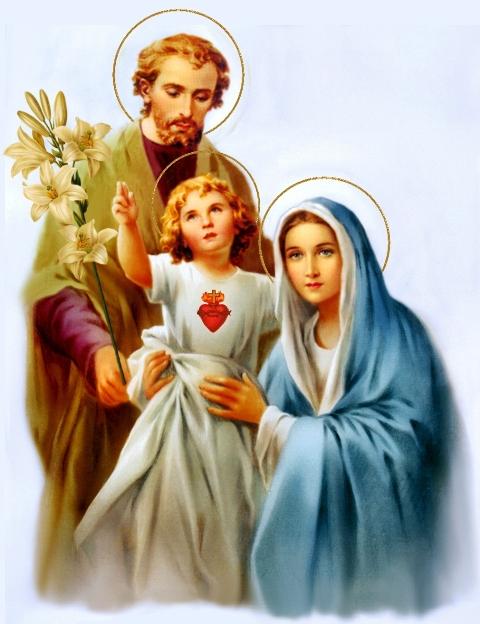 Tre Sacri Cuori di Gesù, Maria e Giuseppe