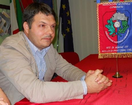 L'assessore comunale Daniele Saia di Agnone - IS -