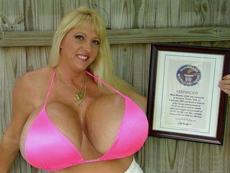Il seno più grande del mondo - Guinness -